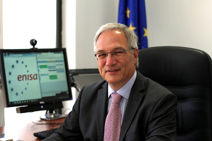 Prof. Helmbrecht, Executive Director of ENISA.