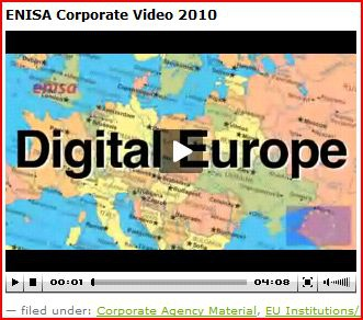 Corp video clip ENISA