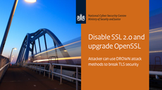 The Netherlands - NCSC publishes factsheet Disable SSL 2.0 and upgrade OpenSSL