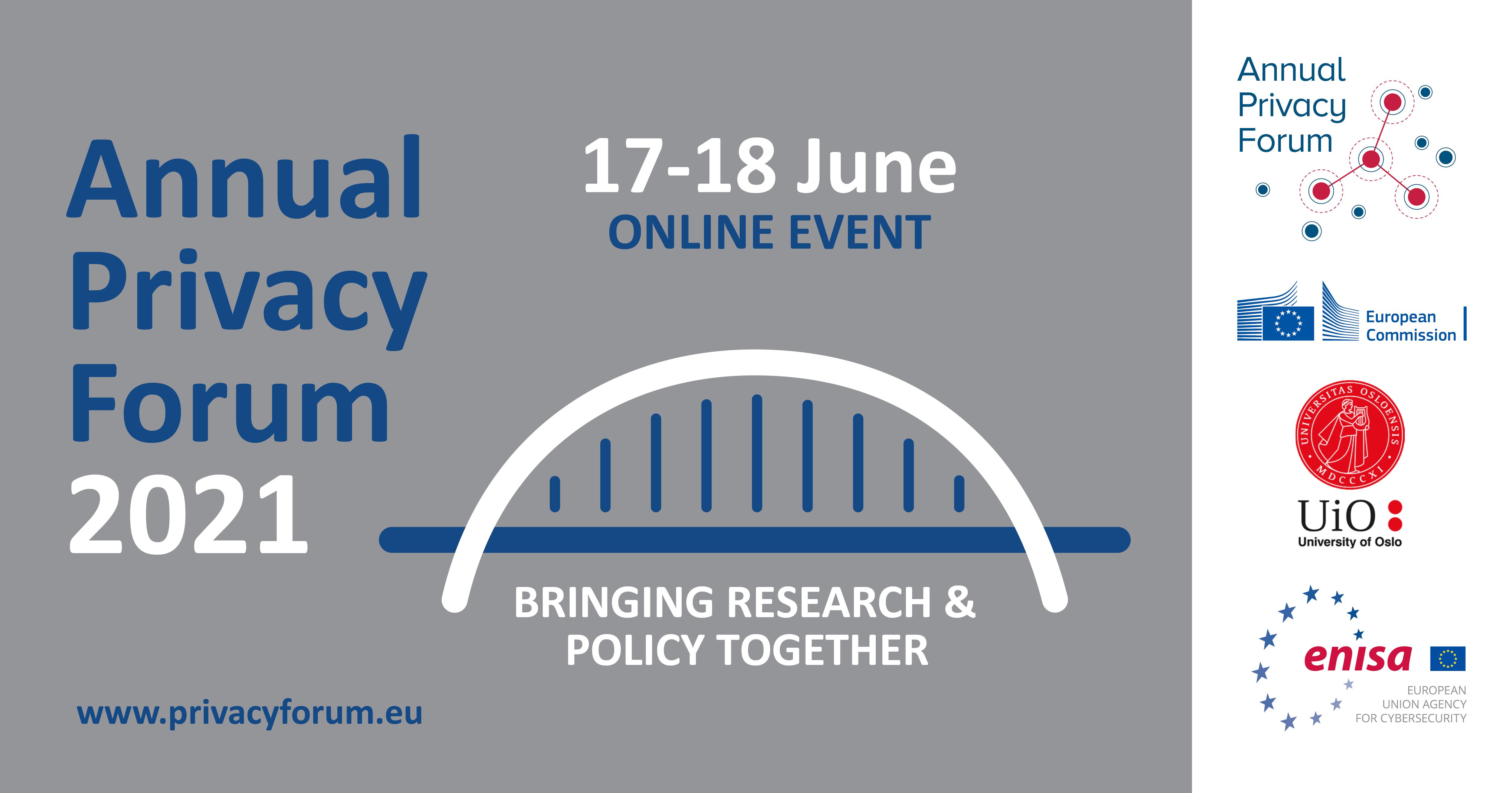Annual Privacy Forum 2021
