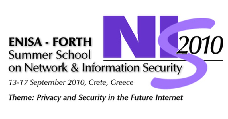 """""""Privacy and Security in the Future Internet"""" Summer School 2010"""