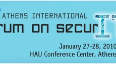 ED speech at the 3rd Athens International Forum on Security