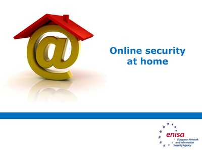 Online security at home: Training material