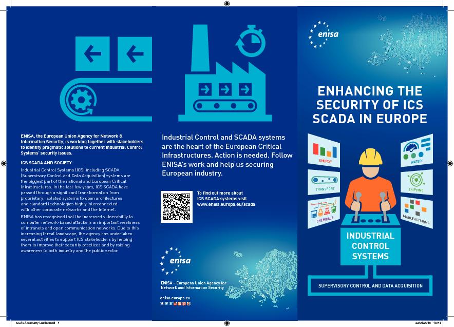 SCADA Security Leaflet — ENISA