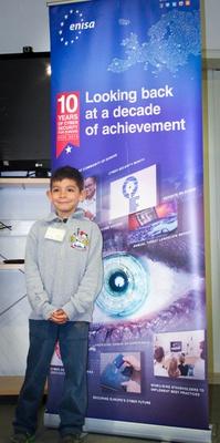 ENISA donates electronic equipment