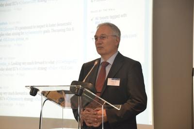 ENISA's Executive Director Udo Helmbrecht