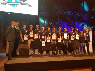 Germany - Third place in the European Cyber Security Challenge competition 2016