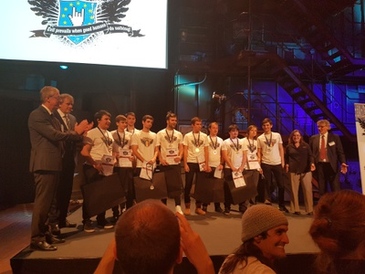 Romania - Second place in the European Cyber Security Challenge competion 2016