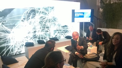 Insights from Reinhard Posch at #ENISA #hub15 lounge