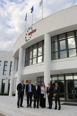 ITRE MEPs Eva Kaili and Michal Boni met with ENISA's management and staff