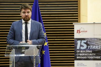 Chair of ENISA's Management board - Jean Baptiste Demaison