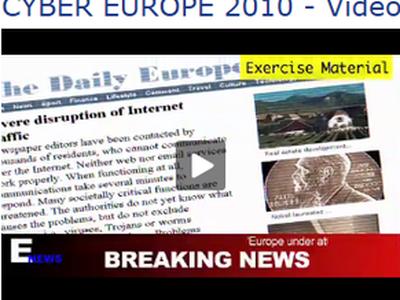 'Cyber Europe 2010'-video clip