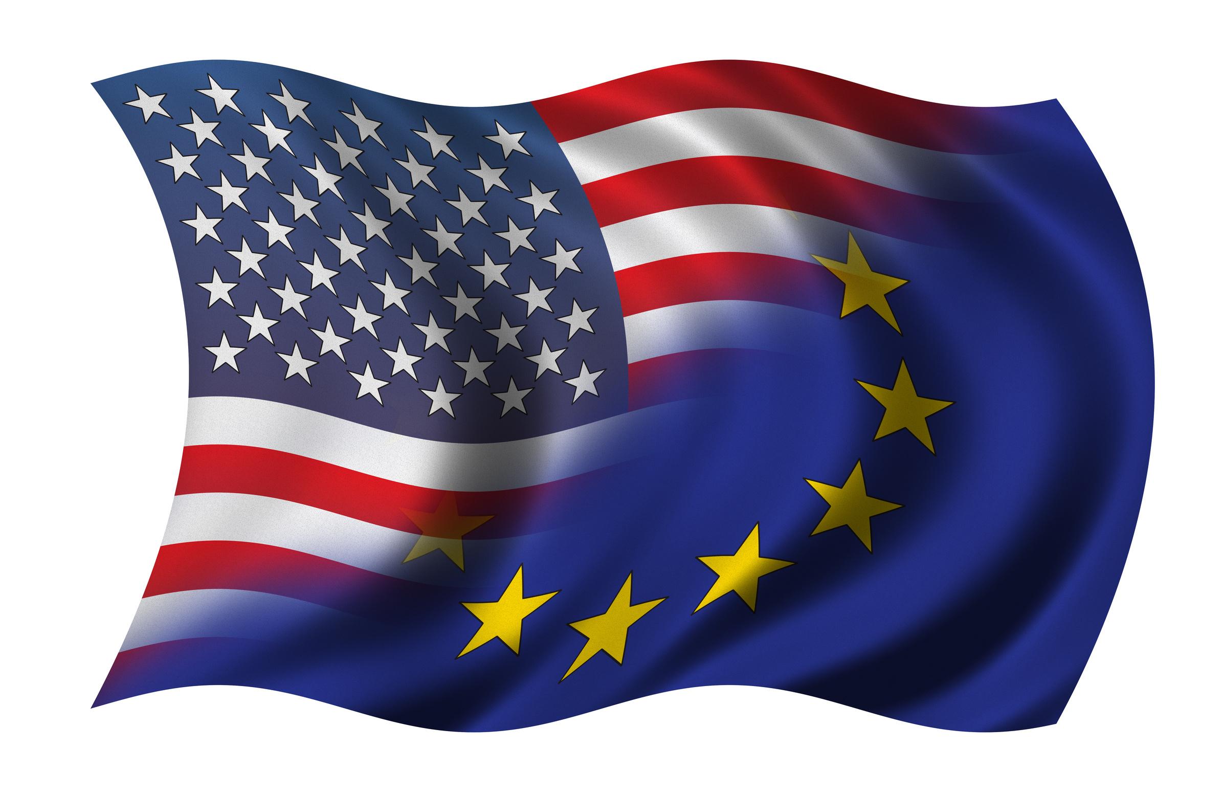 US EU Flag