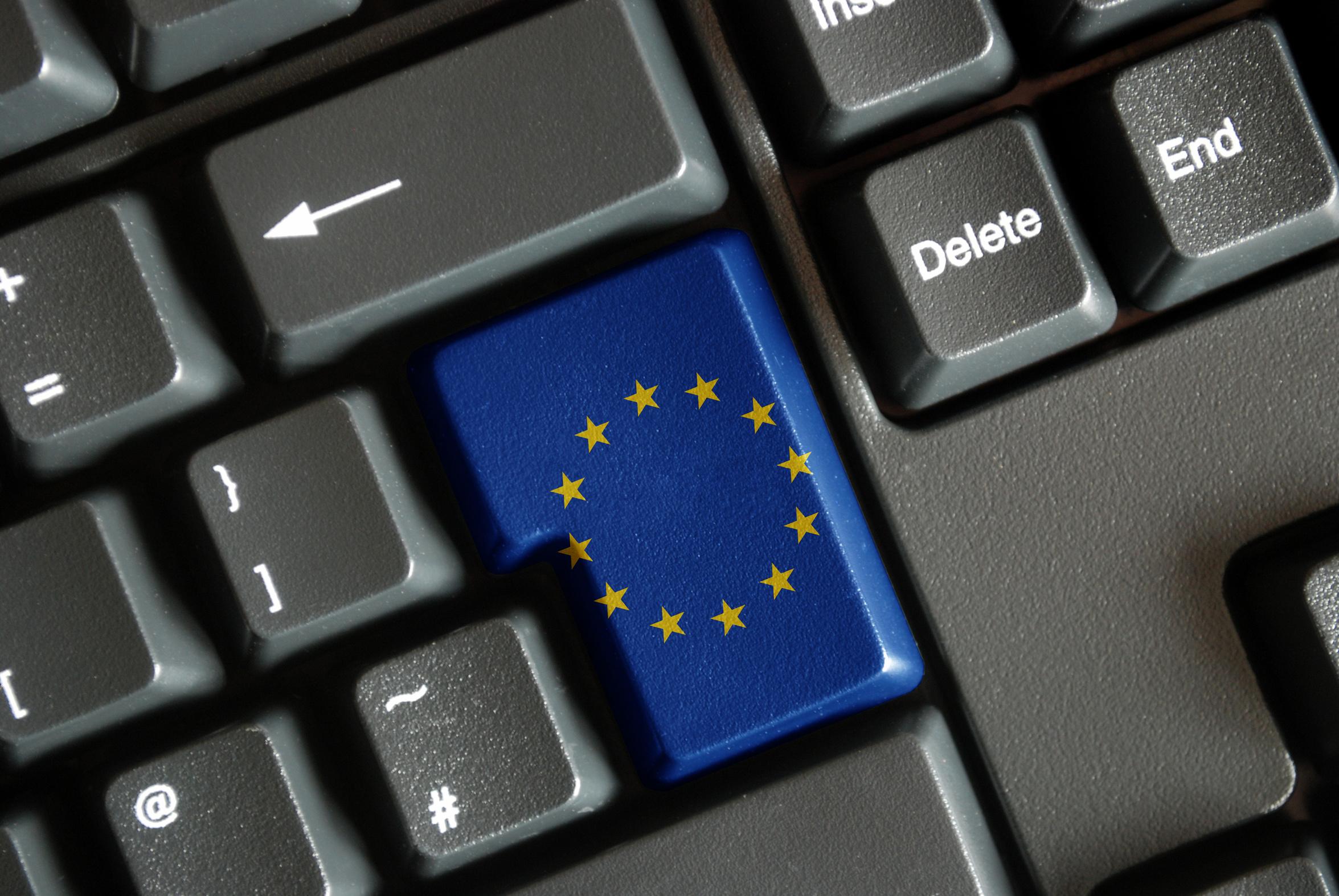 Keypad EU flag