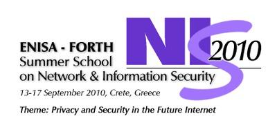NIS Summer School 2010 logo