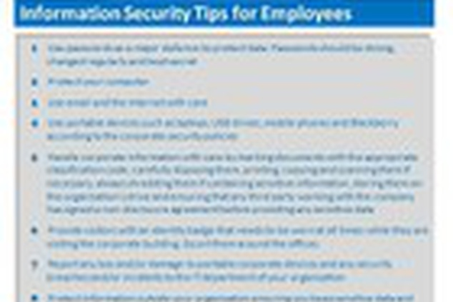 10 Internet Safety tips for Parents/Employees online
