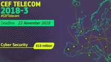 2018 CEF Telecom Call– €13 million to reinforce the EU's Cybersecurity capacity