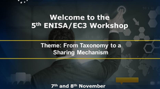 5th Europol EC3/ENISA Workshop on the importance of information exchange in the fight against cybercrime