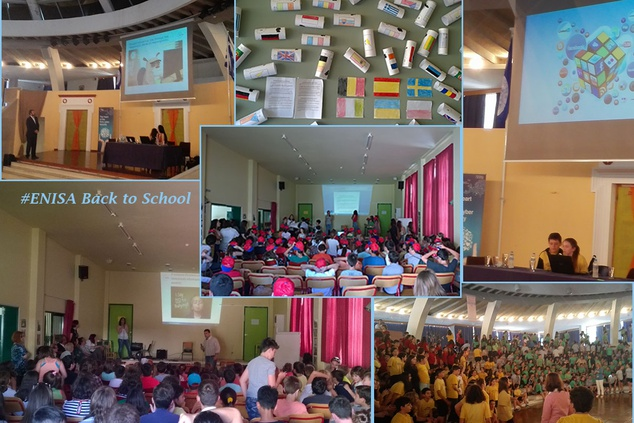 """ENISA """"back to school"""" and opens its doors for Europe Day"""
