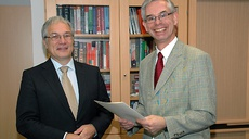 Dr. Helmbrecht bestowed with the title 'Honorary Professor' at Bundeswehr Uni/Munich
