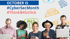 European Cybersecurity Month 2020 'Think Before U Click' kicks off today