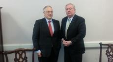 Irish EU-Presidency; Meeting with Minister of Dpt of Communications and Aidan Ryan –  Irish MB member