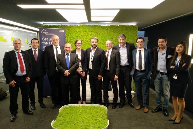 EGFI Members visit ENISA