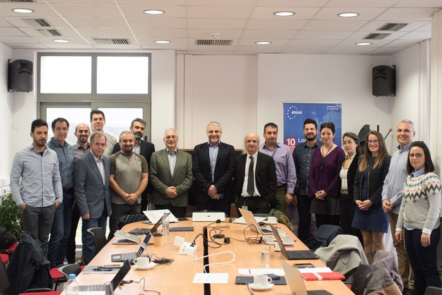 ENISA and FORTH met to boost collaboration and pave the way for joint cybersecurity projects in Crete
