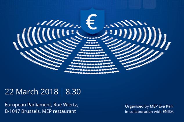 ENISA Director Helmbrecht will have breakfast meeting with MEP Eva Kaili