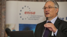ENISA ED Professor Udo Helmbrecht at e-Security Round Table event