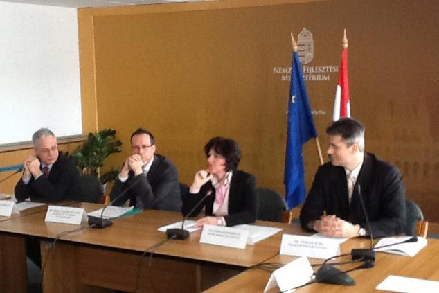 ENISA ED Udo Helmbrecht meeting Visegrad countries