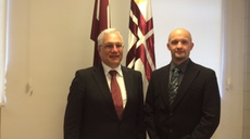 ENISA Executive Director meets with Latvia's secretary of state