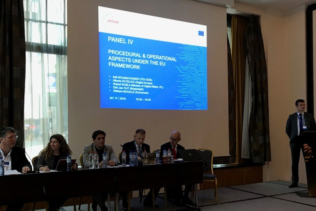 ENISA is prepared to work closely with the stakeholders community on the proposed new Cybersecurity Certification Framework