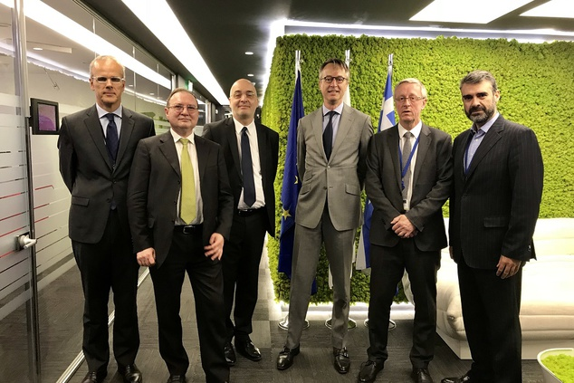 ENISA meets ECB representatives