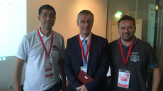 ENISA's Head of Core Operations today at the final of the Austrian Cybersecurity Challenge
