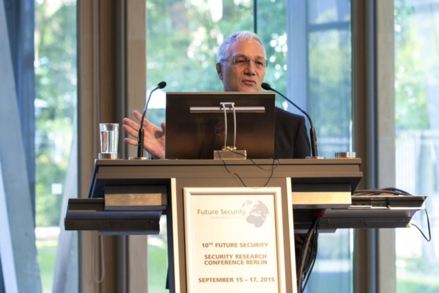 ENISA's Udo Helmbrecht at the 10th Future Security Event in Berlin