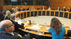 EP meeting on protection of Critical Information Infrastructures