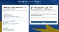 EU Agencies meet at the European Parliament