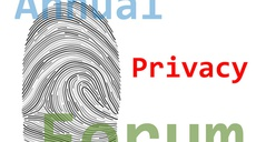 Final Report on the Annual Privacy Forum 2012