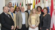 Friends of the Presidency of the EU Council visited ENISA premises in Heraklion