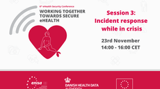 Healthcare's Cybersecurity Incident Response Spotlighted at European Security Event