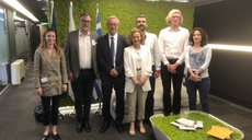 ICANN CEO visits ENISA to discuss cybersecurity of the internet infrastructure