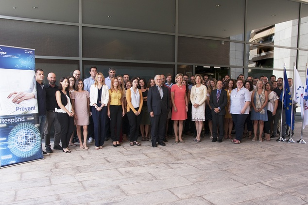 ITRE Delegation visit to ENISA concludes successfully