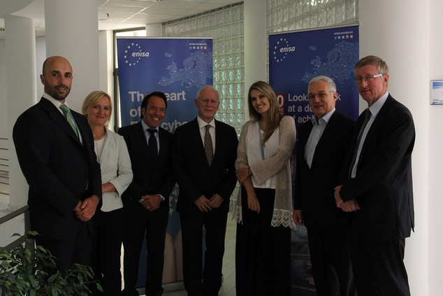 ITRE MEPs visit ENISA for an update on activities and cyber challenges for the EU