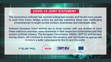 Joint fight against COVID-19 related threats