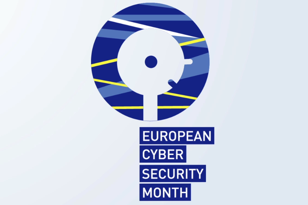 New animated logo of the European Cyber Security Month now online
