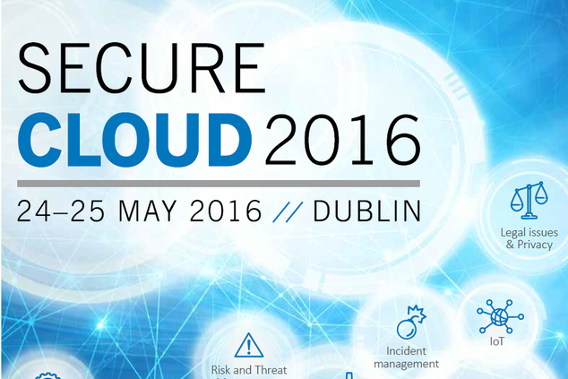 SecureCloud 2016 count down - Latest updates