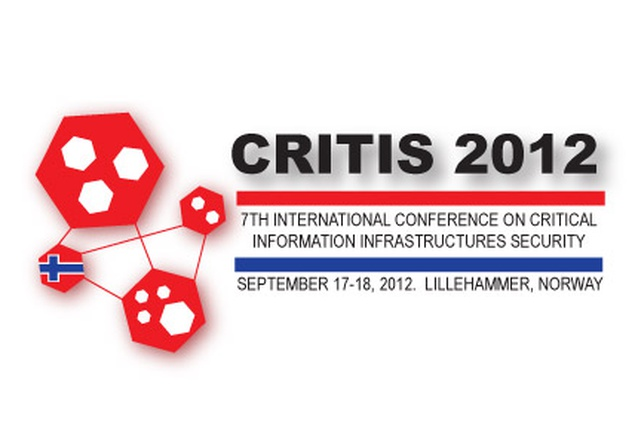 Smart grids in focus at CRITIS12 conference in Norway