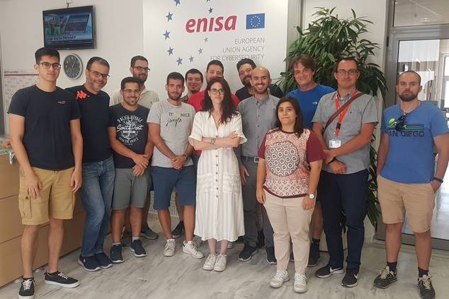 Technical dry-run training provided by ENISA