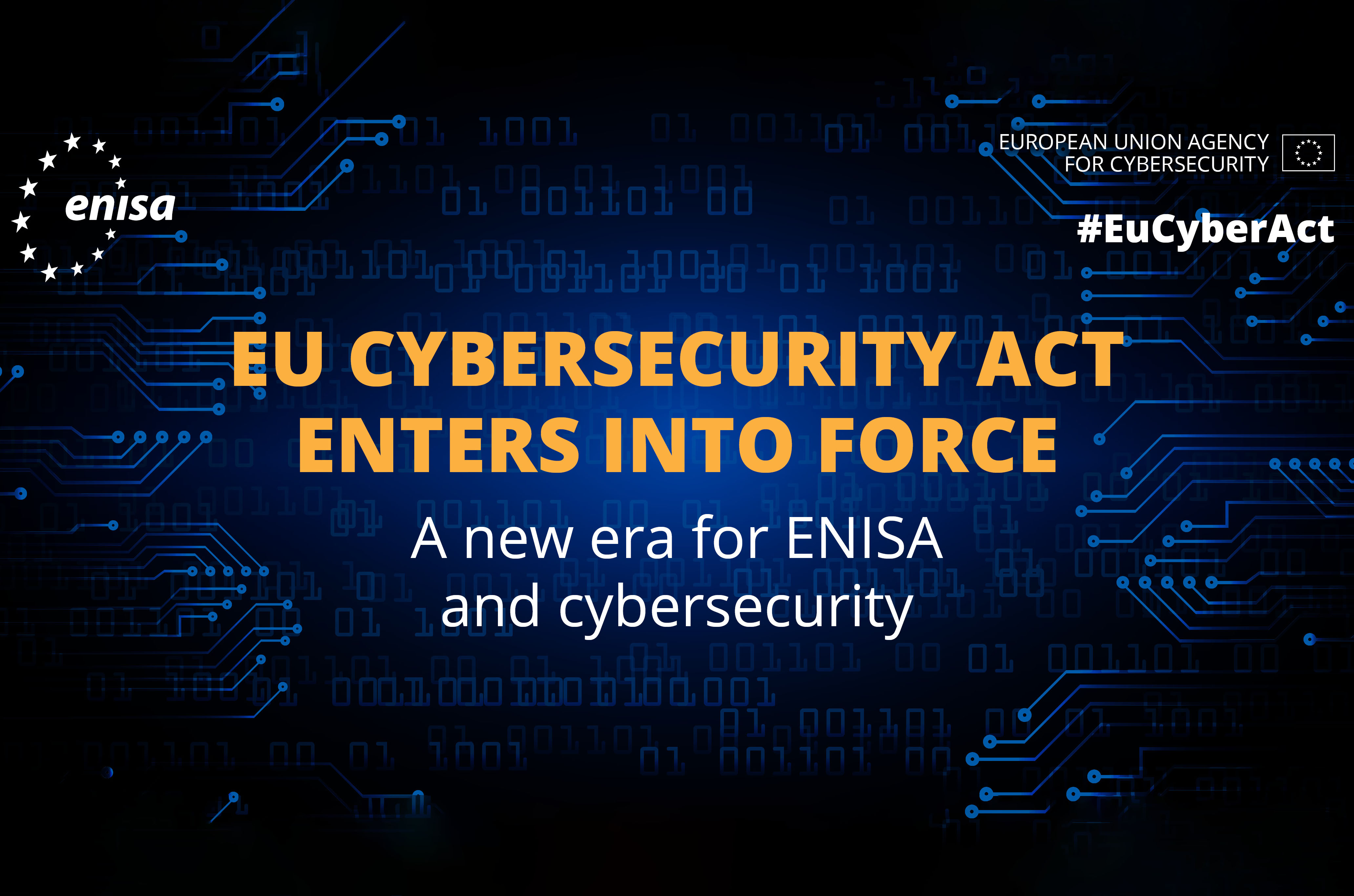 The European Union Agency for Cybersecurity - A new chapter